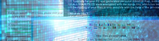 .Cryp1 病毒文件: CryptXXX 3.0 綁架病毒