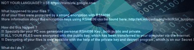 CryptXXX病毒: 勒索軟件解密和清除