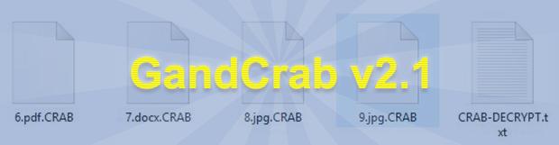 解密.CRAB文件病毒並刪除GandCrab v2.1勒索軟件