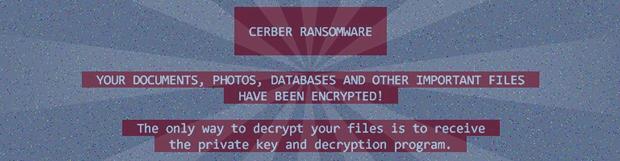移除病毒HELP_HELP_HELP: Cerber Ransomware 2017版本解密