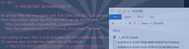 Thor病毒:如何解密.thor文件勒索軟件